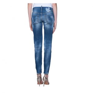 DSQUARED2 MEDIUM WAIST SKINNY JEAN S72LB0002 S30342 470