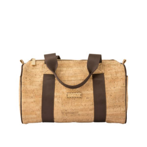 APOXYLO BARELL HANDBAG-LIGHT BROWN