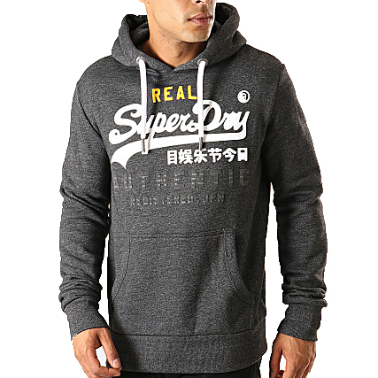 SUPERDRY AUTHENTIC ΦΟΥΤΕΡ M2000069B-NKM-GREY