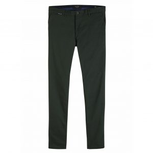 SCOTCH & SODA ΜΟΤΤ SUPER SLIM FIT CHINOS 152081-3193-DARK GREEN