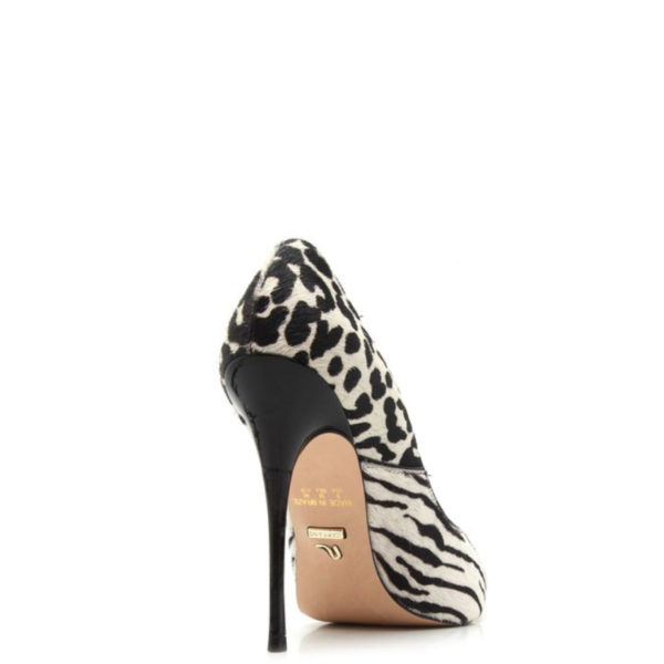 ANIMAL PRINT WHITE CARRANO SHOES 151207