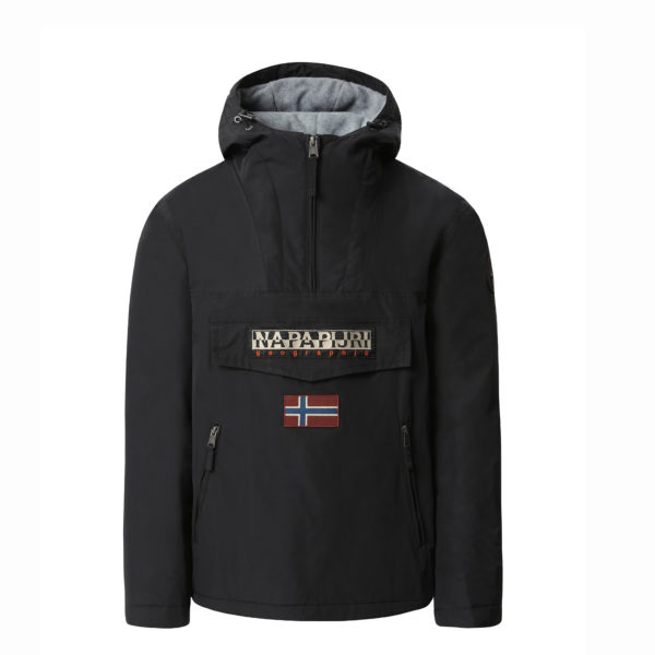 NAPAPIJRI RAINFOREST POCKET JACKET N0YGNL 041-BLACK