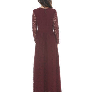 DRESS TALABAKI SILVIAN HEACH DARK BORDEAUX