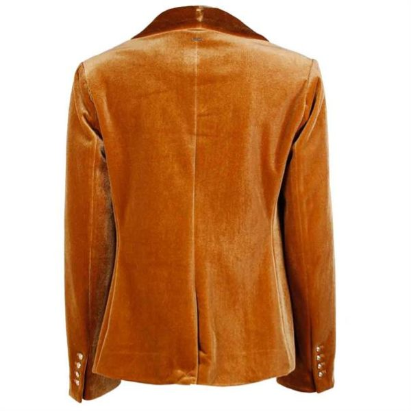 JACKET LAZROU SILVIAN HEACH BROWN SUGAR