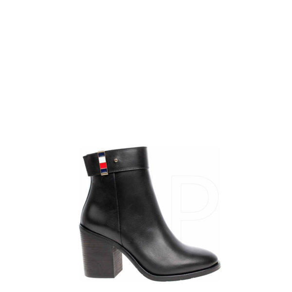 TOMMY HILFIGER CORPORATE HARDWARE BOOT FW0FW04488-BDS -BLACK