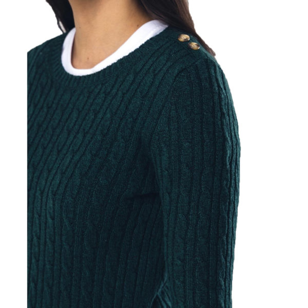 SUPERDRY PULLOVER W6100007A-VZ7 GREEN