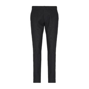 EMPORIO ARMANI TEXTURED PANTS 6G1P15-1N2NZ1-0999-BLACK