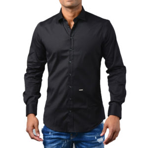 DSQUARED2 BLACK SHIRT S71DM0336-900