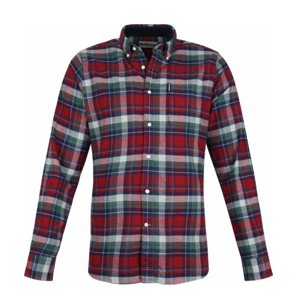 BARBOUR SHIRT HIGHLAND MSH4552RE51 RED