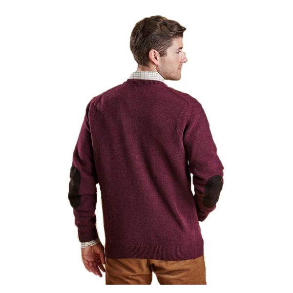 BARBOUR PATCH CREW MKN0584RE94 MERLOT