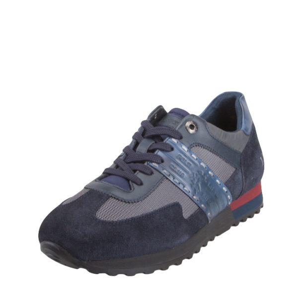 LA MARTINA SNEAKERS LEATHER SNEAKERS LFM192031.2160-NAVY-ANTRACITE