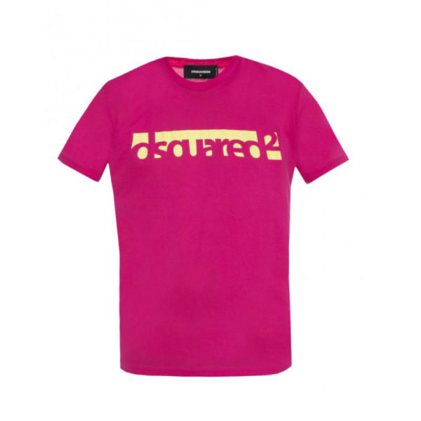 DSQUARED2 T-SHIRT S71GD0648 S22427 244 -FUCHSIA