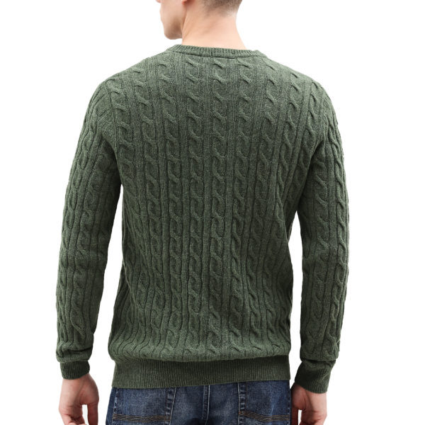 TIMBERLAND LAMBSWOOL SWEATER TB0A1WE8V46-MAYFLY