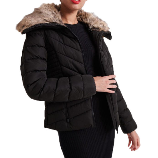 SUPERDRY ARCTIC JACKET W5000007A-02A BLACK