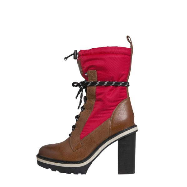 TOMMY HILFIGER BOOTS FW0FW04345-681 CHERRY