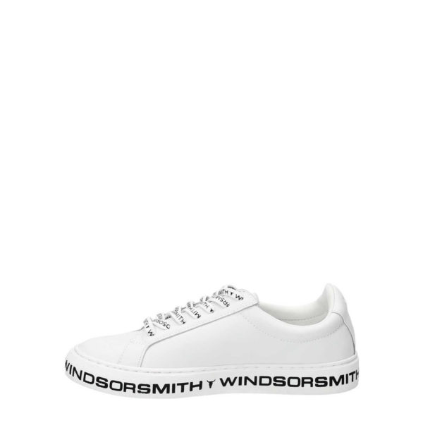 AMALIA WINDSOR SMITH LEATHER SNEAKERS 011200026123737 WHITE