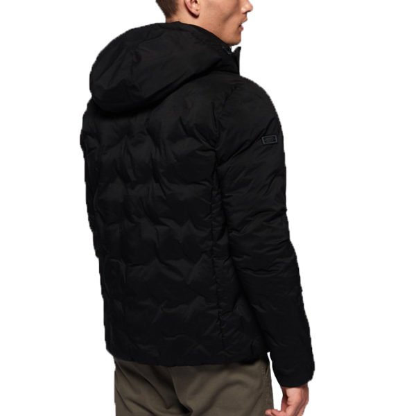SUPERDRY ECHO QUILTED PUFFER M5000066A-12A BLACK