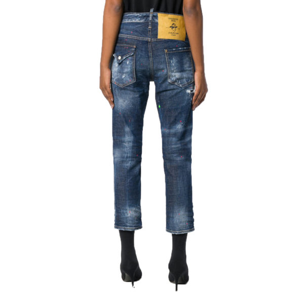 DSQUARED2 COOL GIRL CROPPED JEAN S72LB0119 S30144 470