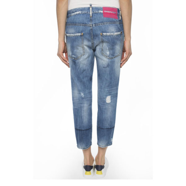 DSQUARED2 COOL GIRL CROPPED JEAN S75LA0971 S30309 470