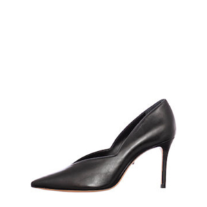 SCHUTZ LEATHER PUMPS S030940160-0004U BLACK