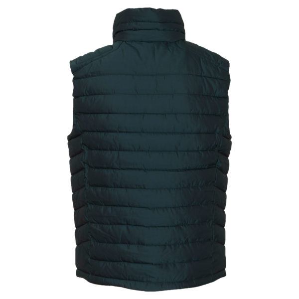 SUPERDRY DOUBLE ZIP FUJI GILET M5000023A 0F7-COUNTRY GREEN