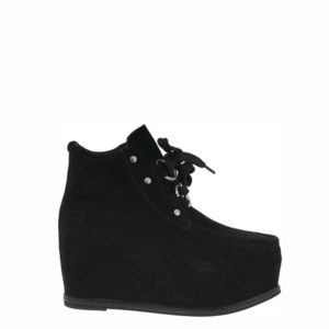 JEFFREY CAMPBELL MINOLA PLATFORM BOOTIES 0101001394-BLACK