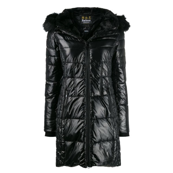 BARBOUR PARKA LQU1106BK11 BLACK
