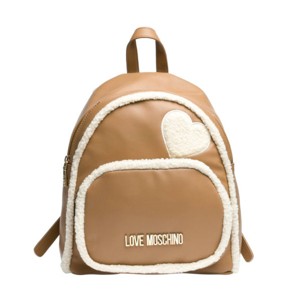 LOVE MOSCHINO BACKPACK JC4299PP08KF120A CAMEL
