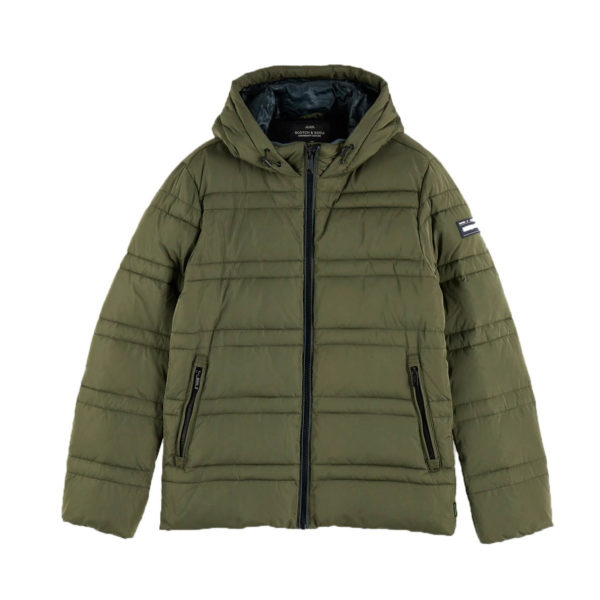 SCOTCH AND SODA JACKET 152012 0115-ARMY