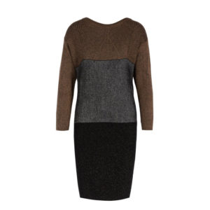 LIU JO KNITTED DRESS F69185 MA14G-B3520 BLACK