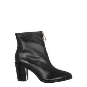 SCHUTZ LEATHER BOOTS S201390010-0002U BLACK