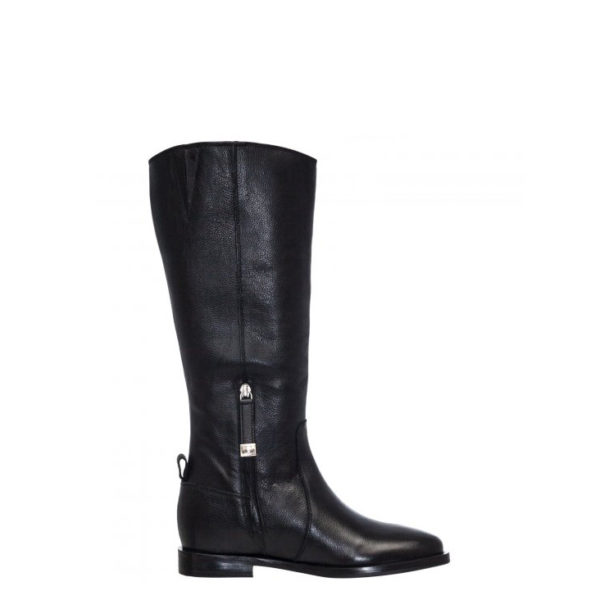 GIOSEPPO LEATHER BOOTS 56656 BLACK