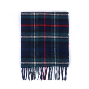 BARBOUR SCARF USC0137NY92-DARK GREEN