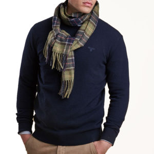 BARBOUR SCARF USC0001TN11 GREEN