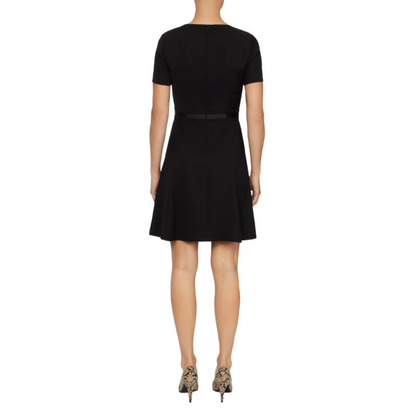 TOMMY HILFIGER FARAH DRESS WW0WW26265-BAV BLACK