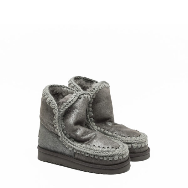 MOU ESKIMO 18CM BOOT DUIRO METALLIC GREY
