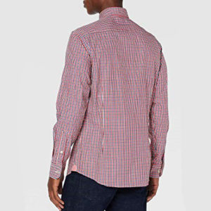 HACKETT LONDON SHIRT HM307763/2AK RED / BLUE
