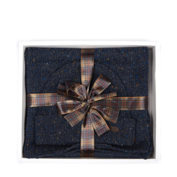 BARBOUR GIFT SET MAC0239NY91 NAVY