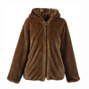 OAKWOOD FAUX FUR JACKET 63052-CARAMEL