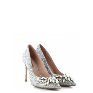 JEFFREY CAMPBEL LURE GLITTER 0101002847 PUMPS