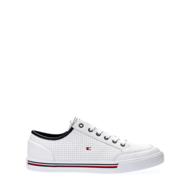 TOMMY HILFIGER SPORTS SHOES FM0FM02677-YBS WHITE