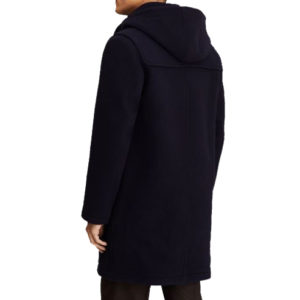 BROOKS BROTHERS WOOL DUFFLE COAT 00143204-NAVY