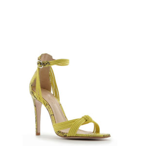 SCHUTZ LEATHER SANDALS S020520073-0004U YELLOW