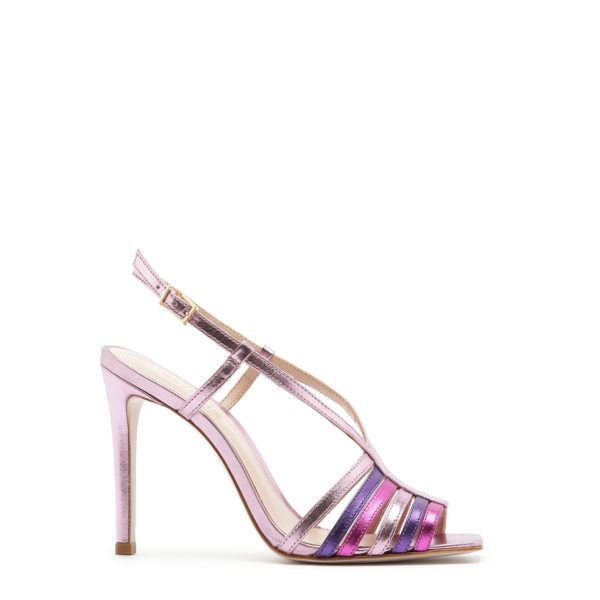SCHUTZ SANDALS S207440016-0001U CERISE / RUBY / PURPLE