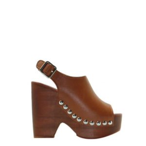 JEFFREY CAMPBELL PLATFORM SANDALS 0101002883 TAN