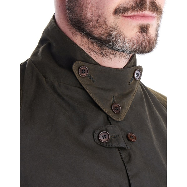 BARBOUR WAXED JACKET MWX1578-OL71 OLIVE