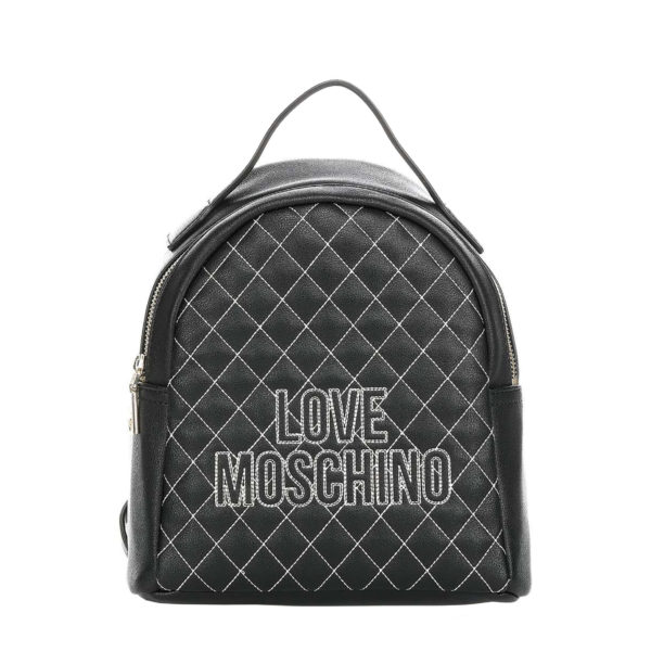 MOSCHINO LOVE BACKPACK JC4279PP08KG100A BLACK