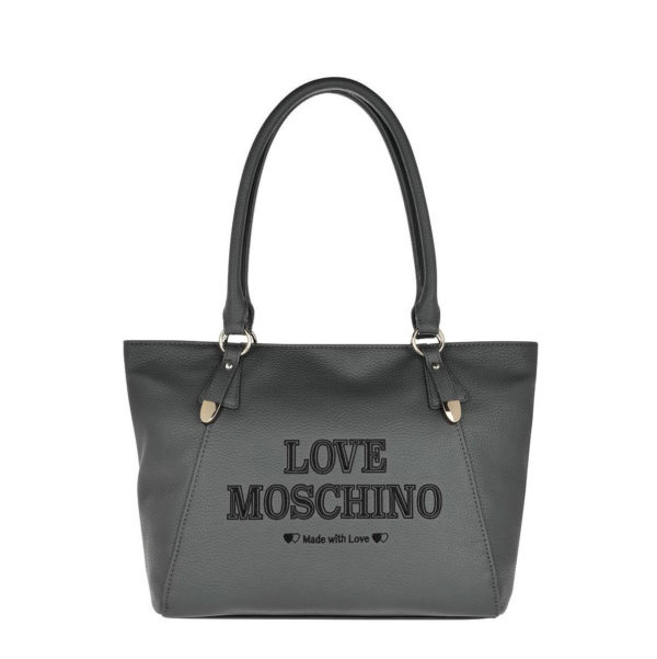 LOVE MOSCHINO SHOULDER BAG JC4285PP08KN0001-GRIGIO