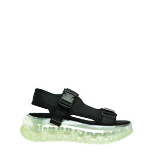 JEFFREY CAMPBELL ELIZONDO SANDALS 0101002954 BLACK / CLEAR