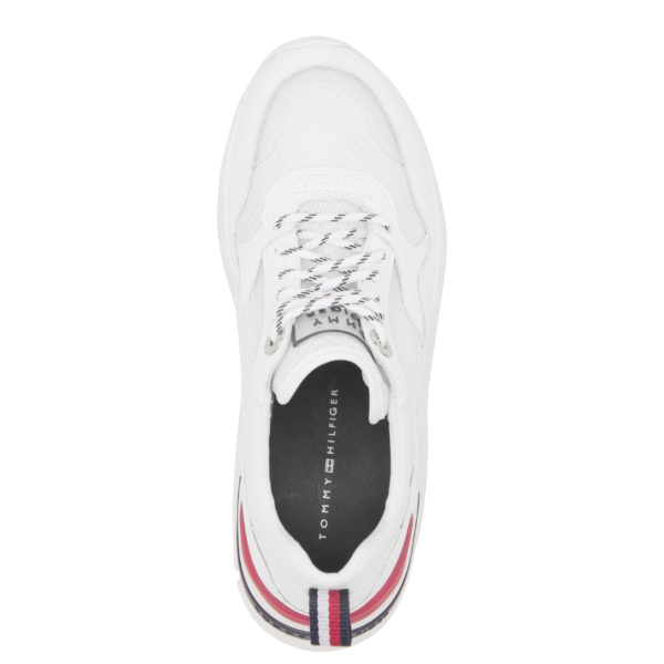 TOMMY HILFIGER SHOES FW0FW04704-YBS WHITE